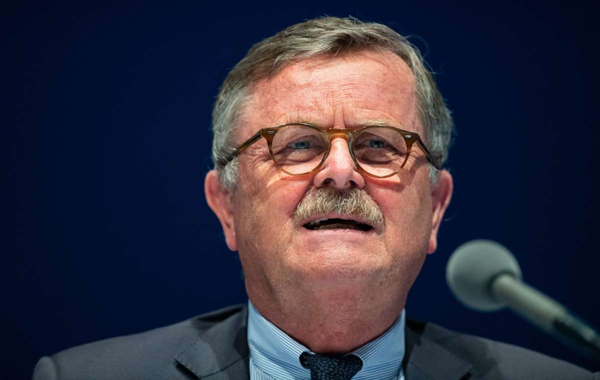 Frank Ulrich Montgomery, Vorsitzende des Weltärztebundes. Foto: picture alliance/dpa   Guido Kirchner