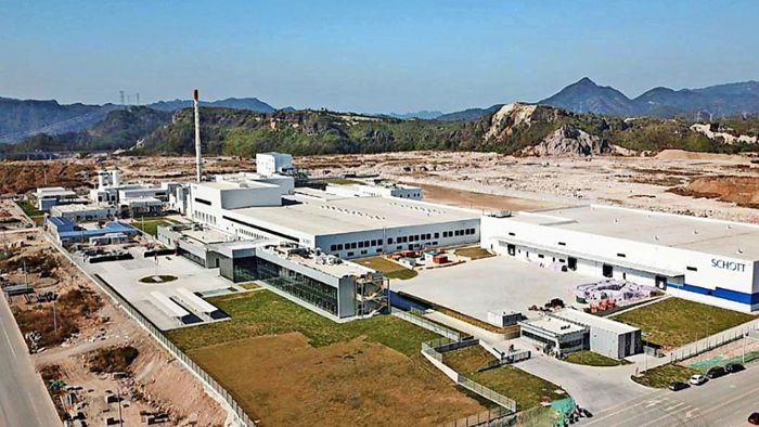 Know-how aus der Region: Glaskonzern Schott baut Werk in China