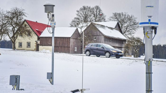 Wetterstation: Optimale Werte vom Standort Brunn